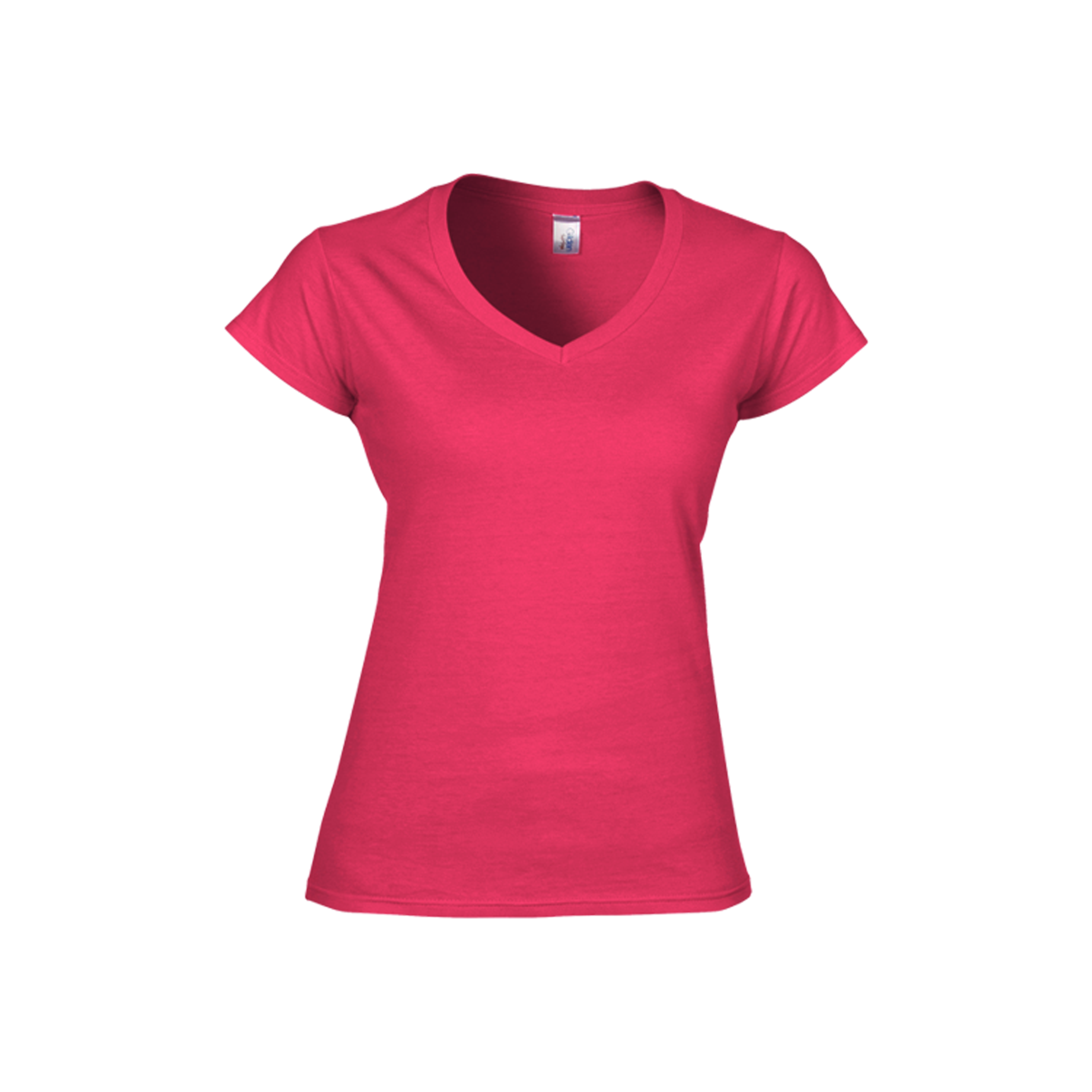 Gildan softstyle ladies v neck t shirt 63v00l 6 colors for Gildan t shirts online