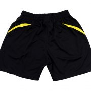SP 603 BLACK / YELLOW BACK VIEW