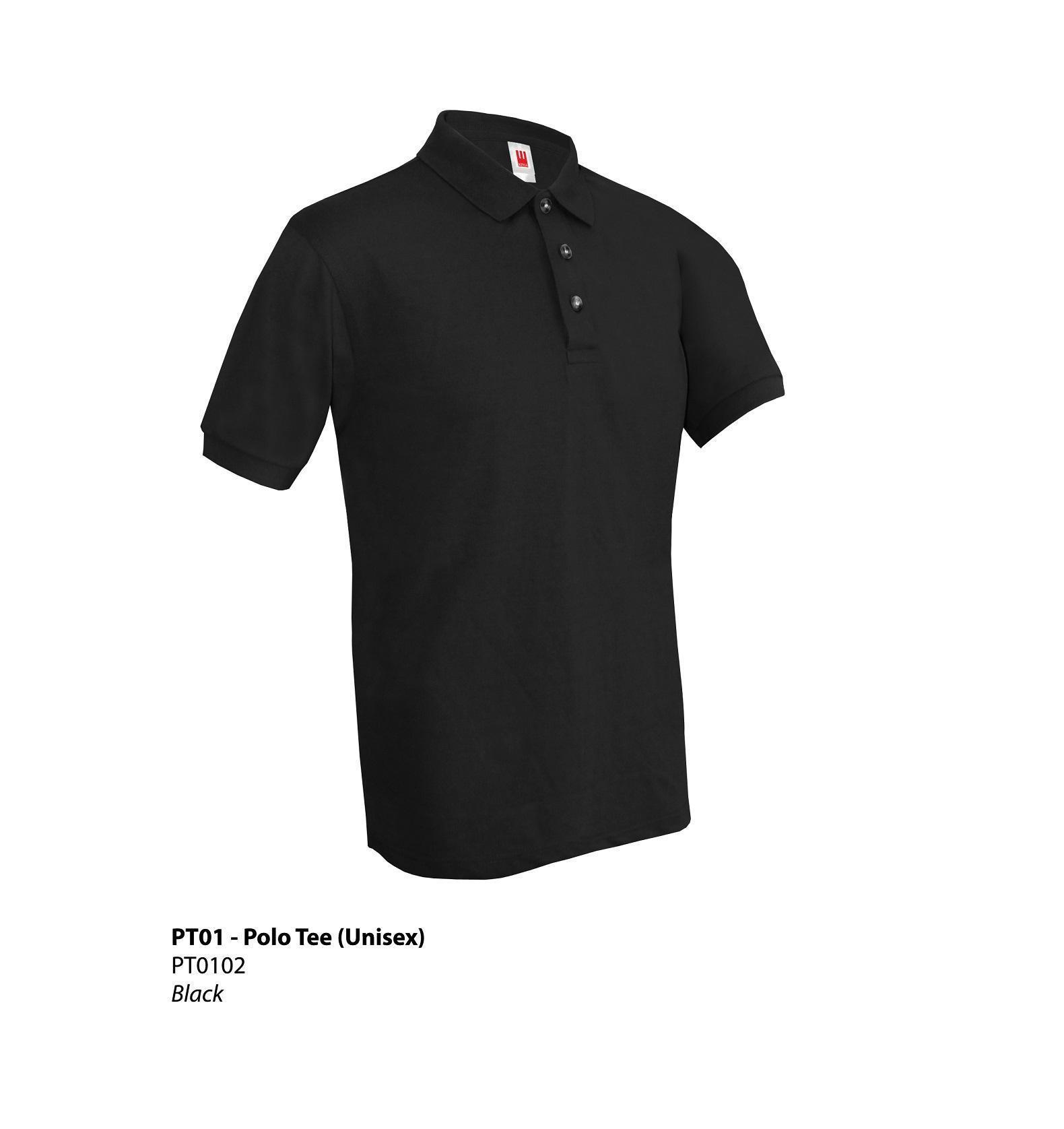 Polo Tee Pt01 Plain 11 Colors Unisex T Shirt 2 U Online T