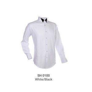 SH0100 WHITE/BLACK