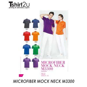 MICROFIBER MOCK NECK M3300