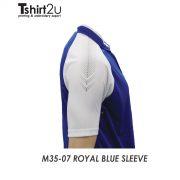 M35-07 ROYAL BLUE SLEEVE