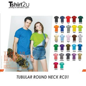 TUBULAR ROUND NECK RC01