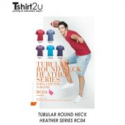 TUBULAR ROUND NECK HEATHER SERIES RC04