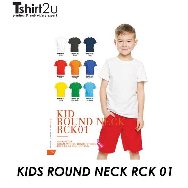RCK01 KID ROUND NECK