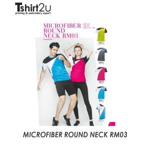 MICROFIBER ROUND NECK RM03