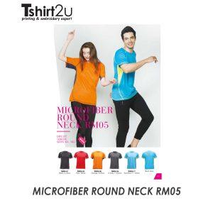MICROFIBER ROUND NECK RM05