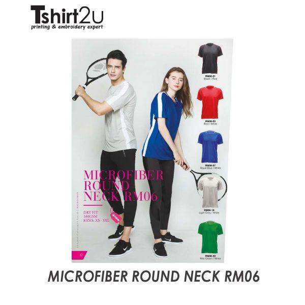 MICROFIBER ROUND NECK RM06