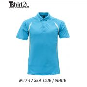 M17-17 SEA BLUE / WHITE