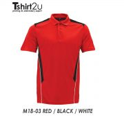 M18-03 RED / BLACK / WHITE