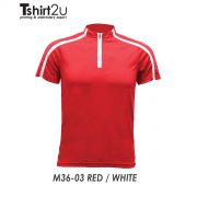M36-03 RED / WHITE