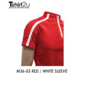 M36-03 RED / WHITE SLEEVE