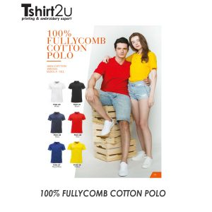 100% FULLYCOMB COTTON POLO FC01