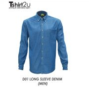 D01 LONG SLEEVE DENIM (MEN)