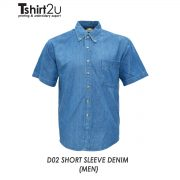 D02 SHORT SLEEVE DENIM (MEN)