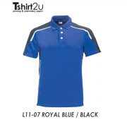 L11- 07 ROYAL BLUE / BLACK