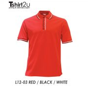 L12-03 RED / BLACK / WHITE
