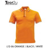 L12-06 ORANGE / BLACK / WHITE