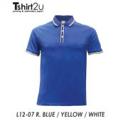 L12-07 R. BLUE / YELLOW / WHITE