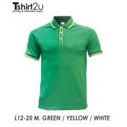 L12-20 M. GREEN / YELLOW / WHITE