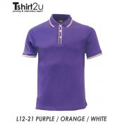 L12-21 PURPLE / ORANGE / WHITE