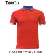 L13-03 RED / WHITE / R. BLUE