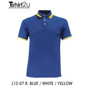 L13-07 R. BLUE / WHITE / YELLOW