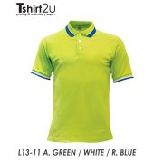 L13-11 A. GREEN / WHITE / R. BLUE