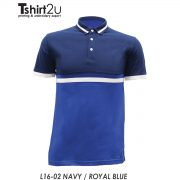L16-02 NAVY / ROYAL BLUE